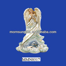Beautiful and wholesale small angel figurines for crafts