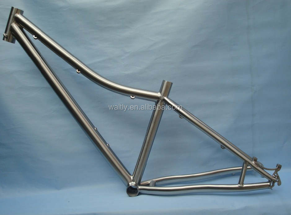 Supply titanium bike 29er ti mtb frames with post mount