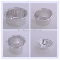 disposable hot food aluminium pizza storage container portion packs aluminium foil container