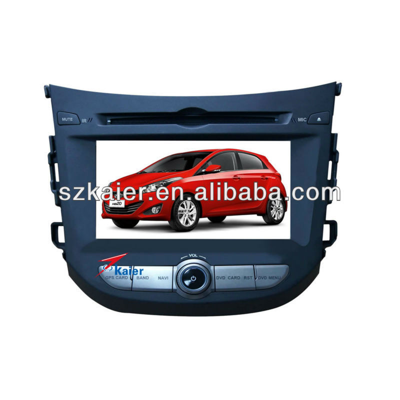 "7"" Special Car Navigation DVD Player for Hyundai HB20 with Bluethooth phonebook,WIFI & 3G Surfing internet and IPOD video play"