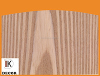 Engineered wood veneer sheets for furniture decoration