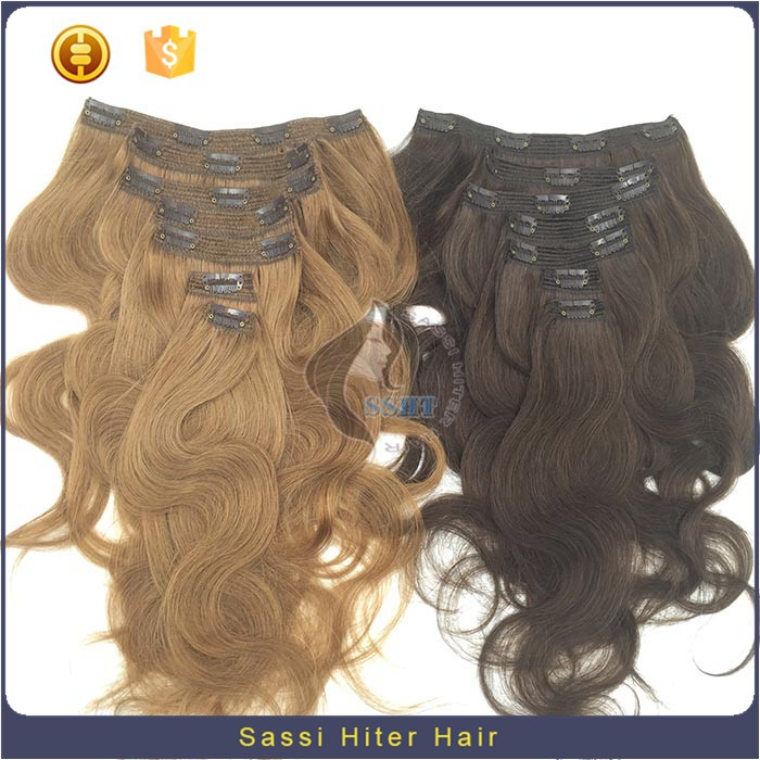 Alibaba Fashion Kinky Hair Clip On Extensions
