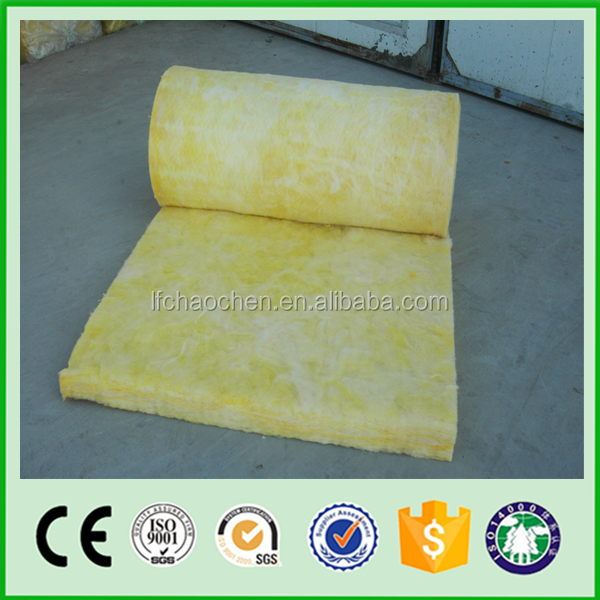 Vacuum glass wool wall insulation