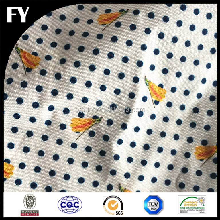 100% cotton sateen cotton fabric custom digitally printed for bedding