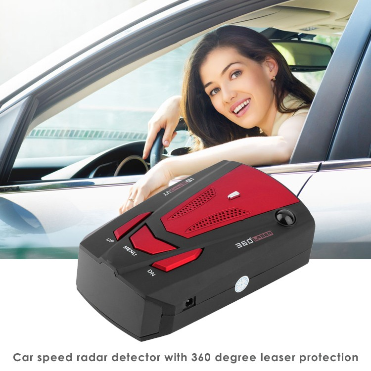 Car Anti Speed Police Radar Detector V7 English/Russian/Spanish/Arabic