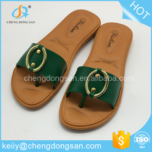 Custom printed middle east korea 2016 new design sandal shoes