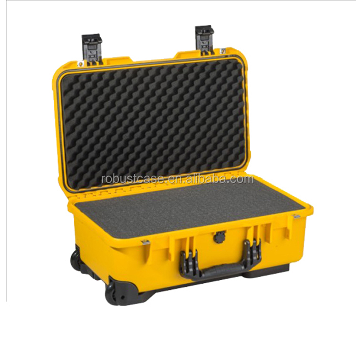 Factory price high quality high impact hard plastic waterproof shockproof case for telescope and camera similar to peli1510
