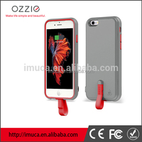 Portable Slim design OZZIE External battery case for Iphone 6