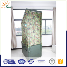 Manual anti epidemic portable public toilet military easy move camouflage cover mobile lavatory