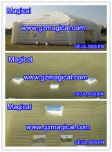 promotional inflatable pyramid tent structure/ inflatable cube storehouse