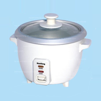 Small rice cooker in japan 1.0l-drum-shape stainless steel double rice cooker