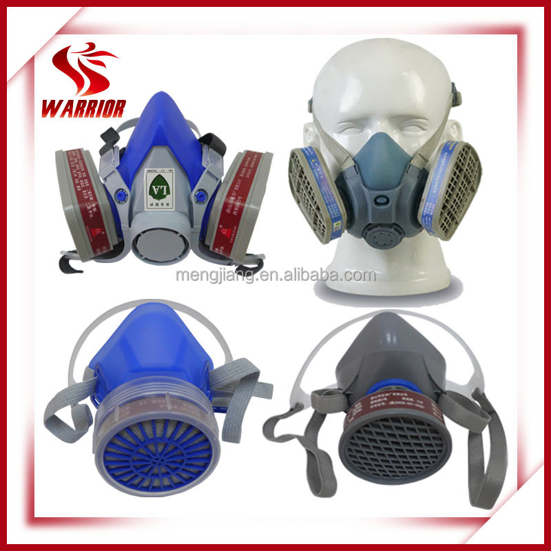 Mine safety respirator half face gas mask