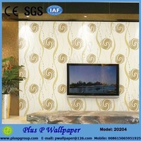 Hot Sale PVC Wallpaper for Home/Hotel/Restaurant Decoration