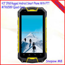 Original Snowpow M8 IP68 Rugged Waterproof Mobile phone MTK6589 Quad Core With Walkie Talkie Function