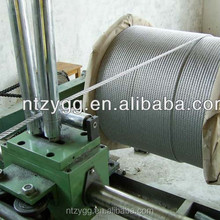 galvanized steel electric wire cable hs code 731210