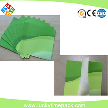 printed and laminated airline use anti slip paper mat