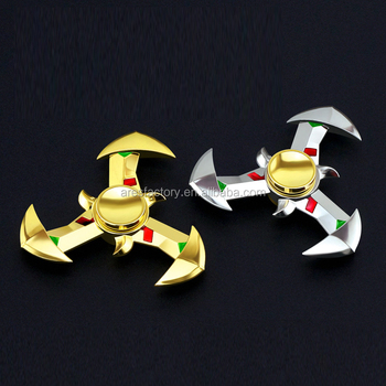 2017 Wholesale triangle aluminum hand spinner/new design fidget spinner/fidget spinner wheel