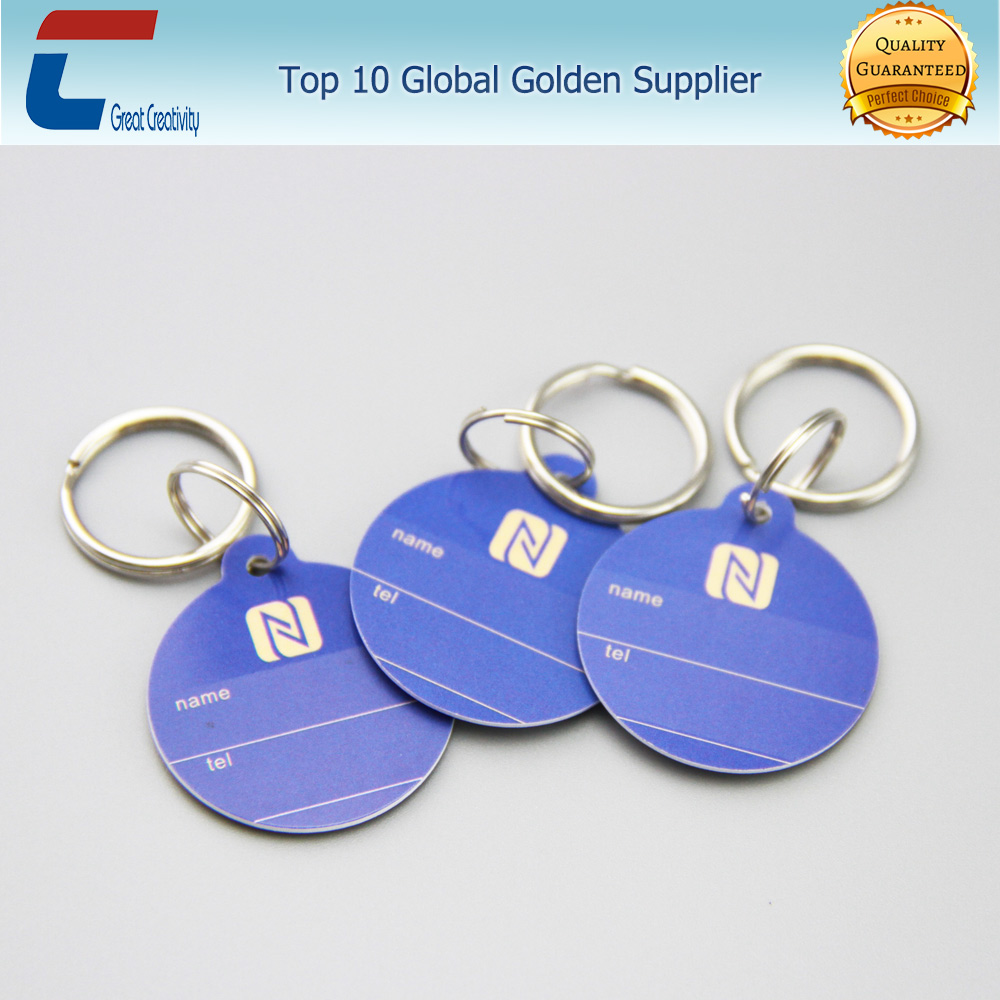 Chip optional rfid type 2 nfc tag