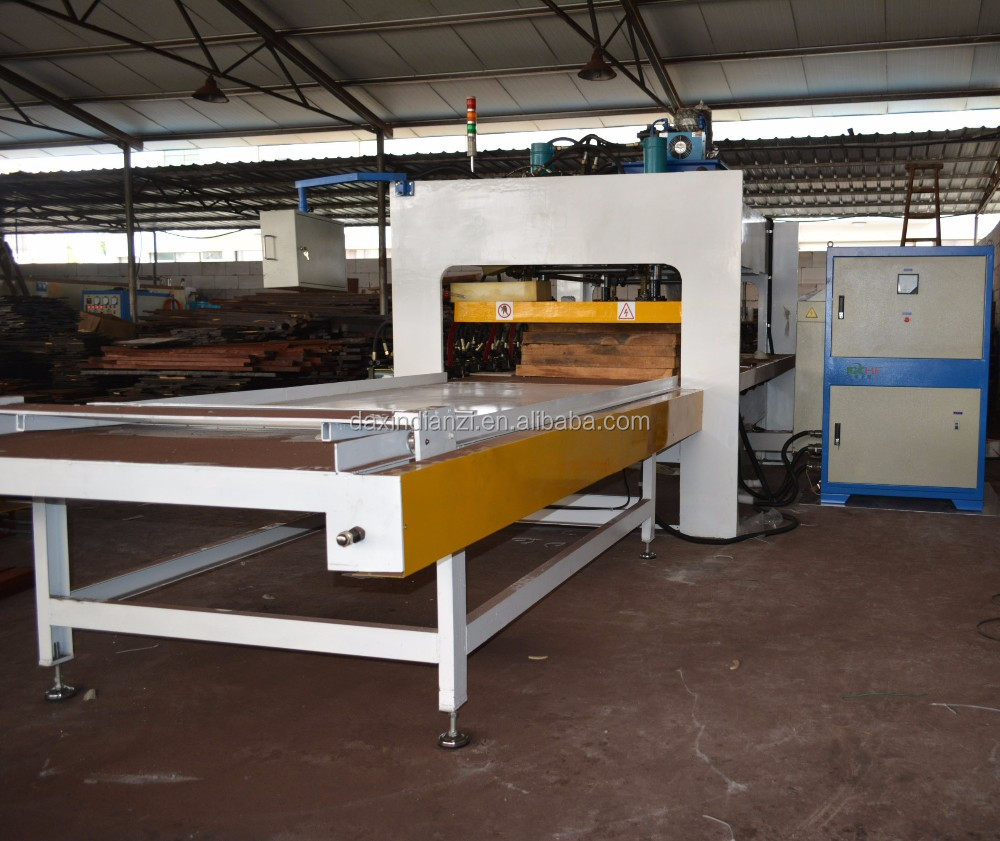 High frequency frame jointing machine for timber/wood