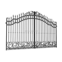 Used wrought iron main gates models beautiful residential wrought iron gate design