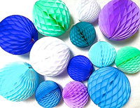 Big And Round Hot Sale Funny Honeycomb Paper Balls