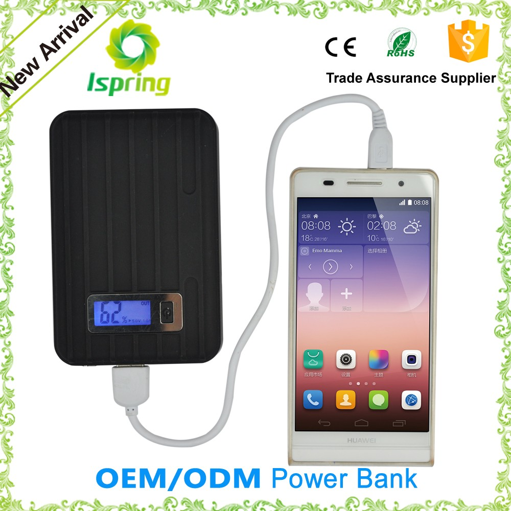 2016 High Quality Portable Power Bank 10400mah For All Kinds Of Mobile phone