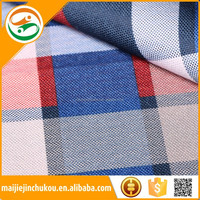 china supplier designs upholstery fabric plaid car fabric for car and bus