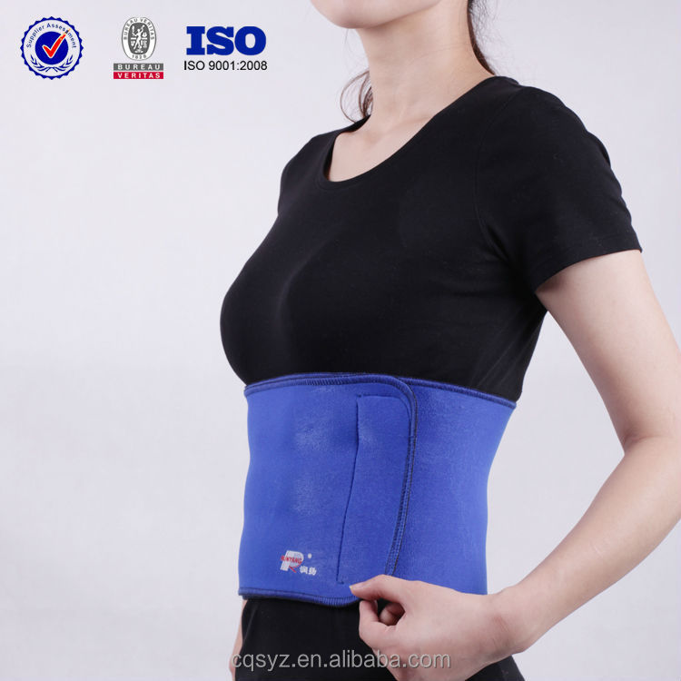 Neoprene medical slimming back support belt