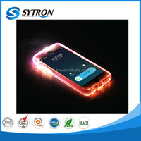 New Creative Cellphone Flashing Cover Hybrid I-glow Case For Iphone5