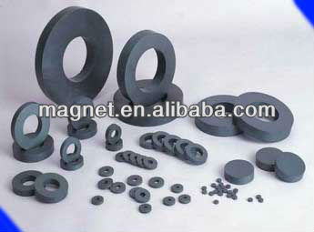 high grade Various Shape generator Permanent ferrite magnet for sale