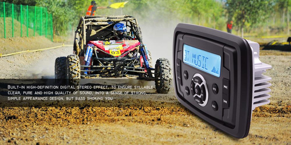 Marine High Quality Waterproof radio for Car ATV Tractor Boat