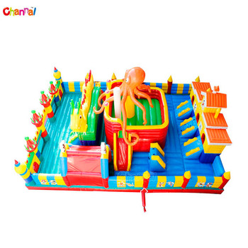 Outdoor inflatable playground rentals inflatable funcity