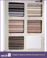 Roller Blind Faux Wood Pattern Blind Outdoor/Indoor Zebra Blind
