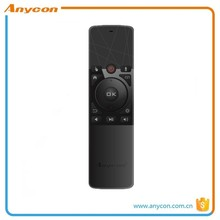 Hot sale black bluetooth 4.0 remote control for smart TV and Android box