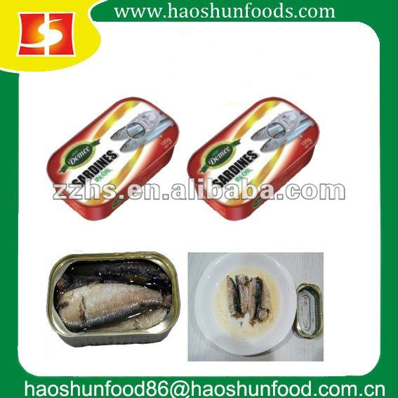 import canned sardines