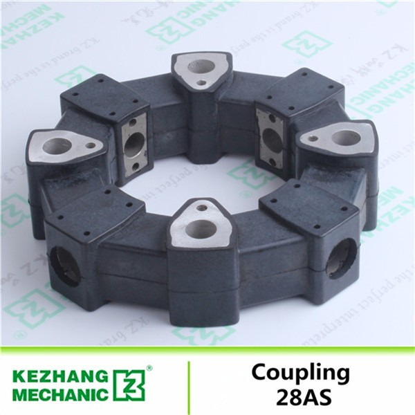 Excavator 28AS Rubber Hydraulic Pump Shaft Coupling