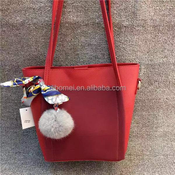 Good quality pu bags handbag women fashion ladies leather hand bag