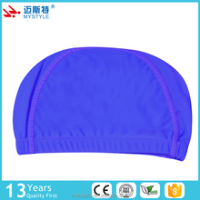 China factory price top sale waterproof swimming swim cap polyester