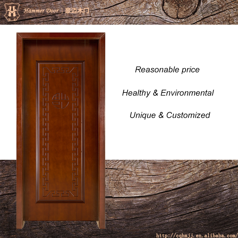 Wood door customized for main door models