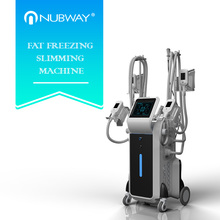 CE / FDA approved safety comfortable treatment 4 cryo handles shaper fat freezing body slimming machine