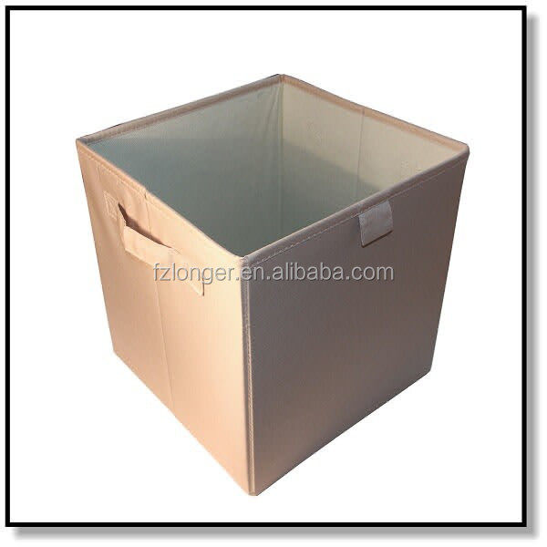 Eco-friendly non-woven fabric foldable storage box large capacity