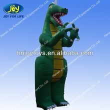 Custom large standing inflatable dinosaur for park
