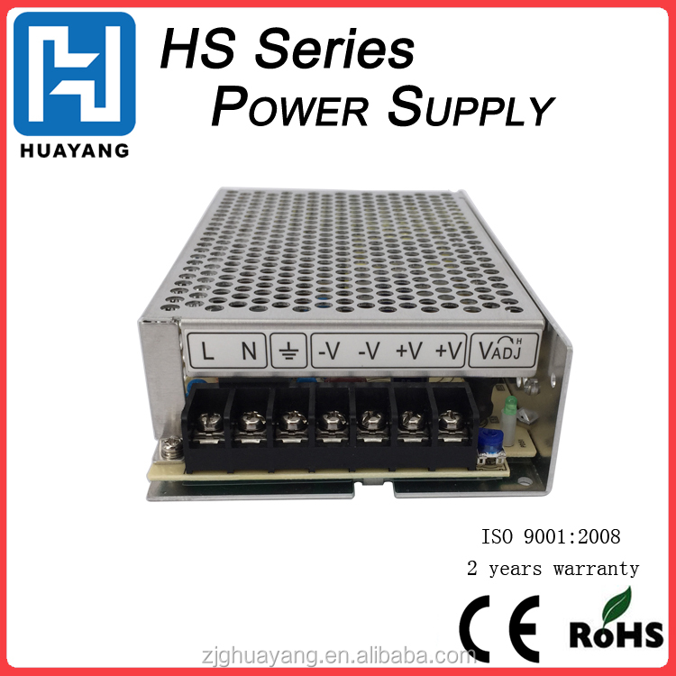 12v 8.5a 100w industrial power source, fanless power supply regulator