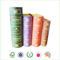 Decorative Book Shaped nesting Paper Box