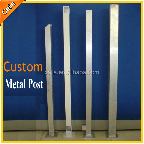 Square Metal Fence Post