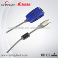 Customized Interface Converter USB to RS232 Cable