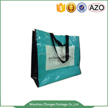 Clothes shop gloss lamination pp woven packaging bag
