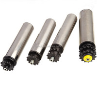 Sprocketed Rollers, conveyor drive rollers