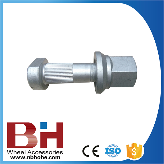 81455010129 M22*1.5*65/75 M22*1.5*SW32*H27 anti theft bolt and nut