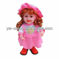 Pretty Fairy Silicone Singing Walking Silicone Electronic Baby Doll